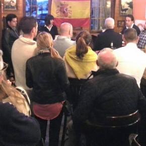 Ciudadanos celebra un café ciudadano en Piélagos