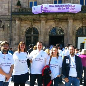 Ciudadanos Torrelavega presente en la concentración del Día de la Mujer