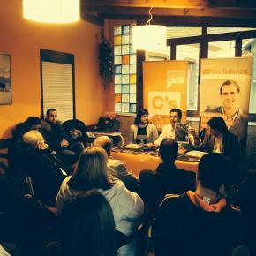 Ciudadanos Cantabria celebra un nuevo café ciudadano en Torrelavega