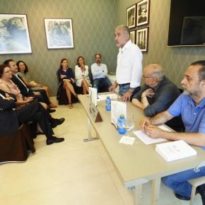 Ciudadanos (C's) asistió a la presentación de la asociación Ateneo de Castro Urdiales