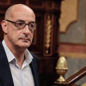 Félix Álvarez pregunta en el Congreso por las ayudas destinadas a mejorar la gestión del agua en Santander