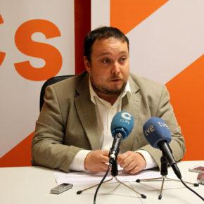 """Rubén Gómez: """"El Gobierno no tiene interés en reunirse con Cs porque no ha cumplido con lo acordado en el pacto presupuestario"""""""