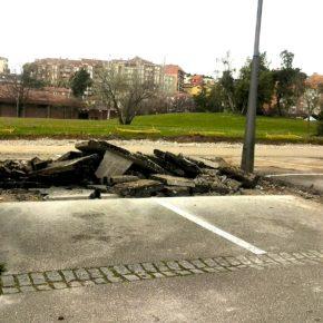 Cs El Astillero critica que el Ayuntamiento haga coincidir las obras del parking de La Cantábrica con las Fiestas de San José