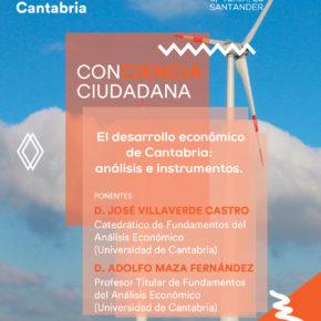 Ciudadanos celebra una conferencia sobre el desarrollo económico de Cantabria dentro del ciclo 'Conciencia Ciudadana'