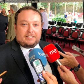 """Rubén Gómez: """"A Miguel Ángel Revilla se le ha acabado el discurso después de la moción de censura"""""""