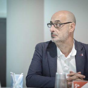 """Félix Álvarez (Cs): """"Ciudadanos sigue creciendo convencido de liderar el cambio político que necesita Cantabria"""""""