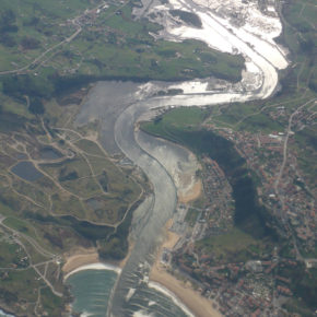 Cs Suances apuesta por la Isla Monti como nueva ubicación de la estación depuradora de aguas residuales