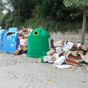Cs denuncia que la tasa de basuras crece en casi el 39% desde la privatización del servicio a la vez que desciende la calidad
