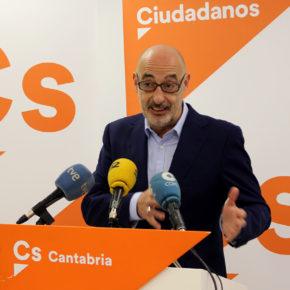 """Félix Álvarez: """"Desde Cs estamos en disposición de negociar unos PGC que bajen los impuestos a la clase media trabajadora de Cantabria"""""""