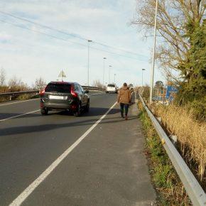 Cs propone unir el club de remo y la estación de autobuses mediante un paso protegido para peatones y ciclistas