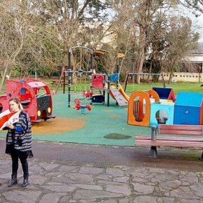 Cs apuesta por cubrir el parque infantil de La Cantábrica para que las familias lo disfruten a lo largo de todo el año
