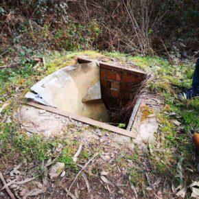 Cs Cartes alerta de la existencia de arquetas descubiertas en la pista forestal que va de San Cipriano a Mercadal