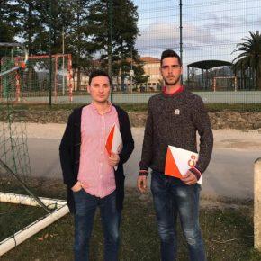Cs solicita al Ayuntamiento de Ribamontán al Monte la introducción de desfibriladores en las áreas deportivas