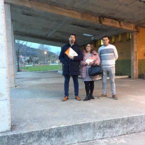 """Cs alerta del estado de las instalaciones deportivas municipales de Cartes por el """"escaso interés"""" del Ayuntamiento"""