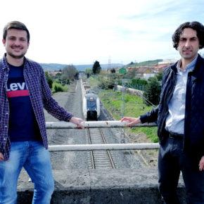 Ciudadanos solicita a Fomento la instalación de barreras acústicas en las vías del tren a su paso por Guarnizo