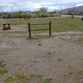 Cs Polanco denuncia la falta de mantenimiento del parque canino de Requejada