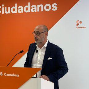 """Álvarez: """"En Santander no descartamos ningún escenario: con la entrada de Cs en el Gobierno municipal va a haber cambio sí o sí"""""""