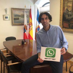 "Javier Fernández Soberón presenta la iniciativa ""Wasapea a tu alcalde"""