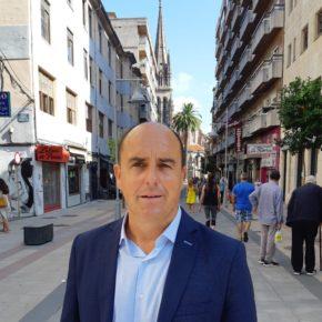 """Ricciardiello: """"La peatonalización del centro está acabado con el pequeño comercio de Torrelavega"""""""