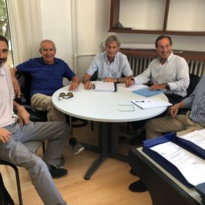 """Ceruti: """"Esperamos poder asistir a la reunión de septiembre entre el Ayuntamiento y el Ministerio para abordar la situación de los espigones"""""""