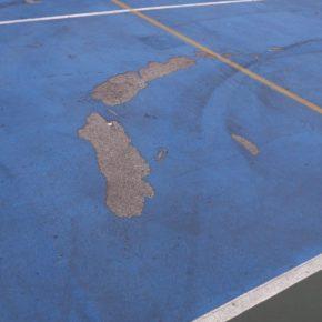 Cs Bezana pide la restauración de la pista polideportiva de La Jaya