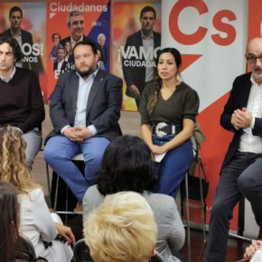 """Gómez: """"Cs es el partido de las familias y estamos preparados para dar respuesta al cambio estructural que ya se ha producido"""""""