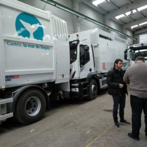 El Ayuntamiento de Castro Urdiales incorpora nuevos vehículos al servicio de limpieza viaria y recogida de residuos domésticos