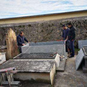 El Ayuntamiento de Castro Urdiales da comienzo a obras de rehabilitación de una zona del Cementerio de La Ballena