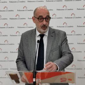 """Cs critica que la devolución del IVA a Cantabria se está convirtiendo en un """"auténtico sainete"""""""