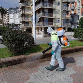 El Ayuntamiento de Castro-Urdiales desinfecta a partir de hoy las zonas verdes del municipio