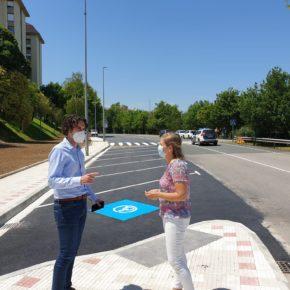Astillero finaliza las obras del nuevo aparcamiento en Avenida de Chiclana