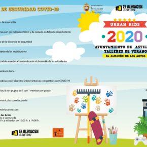 El Ayuntamiento de Astillero abre las inscripciones para el campus de verano 'Urban Kids 2020' con las máximas garantías sanitarias y reducción de aforo