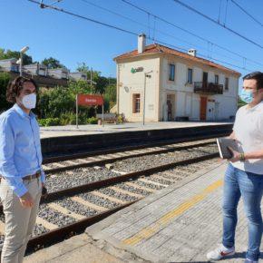 La estación de Guarnizo contará con un paso peatonal soterrado