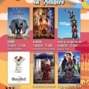 Astillero arranca este sábado su ciclo de cine de verano que este año cuenta con un total de seis títulos