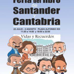 Más de 40 escritores e historietistas participarán en la Feria del Libro de Santander y Cantabria