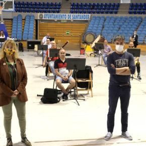 La Banda Municipal de Música retoma sus ensayos presenciales