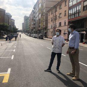 El Ayuntamiento de Astillero asfalta de manera completa la Avenida España