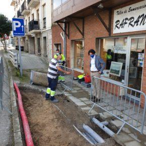 Nuevo paso accesible en la calle Prosperidad, junto al Antiguo Cuartel