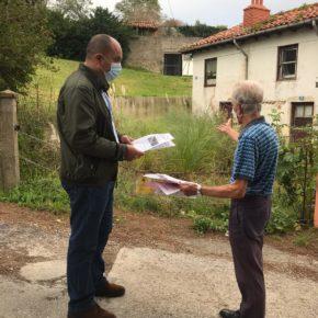 Cs Torrelavega denuncia el estado de abandono de la calle Gervasio Herreros