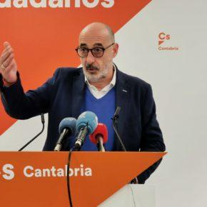 """Álvarez: """"Ciudadanos es un partido útil que sabe negociar y llegar a acuerdos pensando en el bien general de Cantabria"""""""