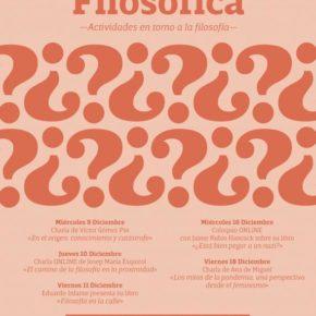 "Santander acoge a partir del 9 de diciembre la ""Pandemia Filosófica"""