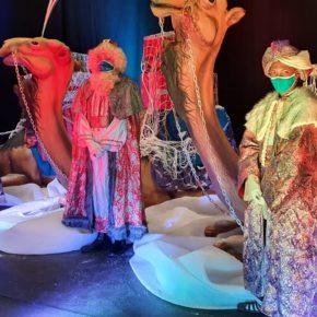 SS.MM Los Reyes Magos de Oriente reciben la visita de los niños del municipio de Astillero