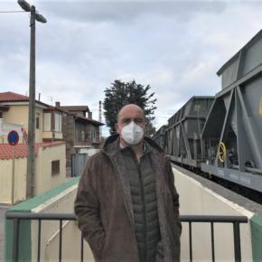 Cs Torrelavega reclama que Adif traslade sin mayor demora los vagones de Barrera a la estación central de Santander