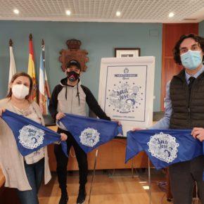 La lucha contra el coronavirus protagonista en el pañuelo de las fiestas de San José 2021
