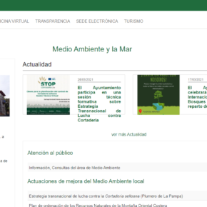 El Ayuntamiento de Castro-Urdiales actualiza la web municipal de la Concejalía de Medio Ambiente