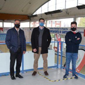 Avanza la renovación del alumbrado en las instalaciones deportivas en Santander