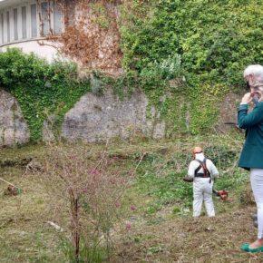 La Concejalía de Patrimonio de Castro-Urdiales inicia el acondicionamiento del solar donde se hallan restos de termas romanas