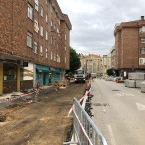 Cs Bezana pide al Ayuntamiento que controle las obras del centro urbano ante las quejas de los comerciantes por la falta de medidas de seguridad