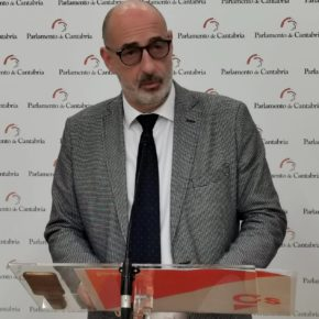 """Álvarez: """"Es muy preocupante para Cantabria asistir a la decadencia de la Universidad Internacional Menéndez Pelayo"""""""
