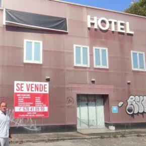 Cs plantea la posibilidad de que el albergue de peregrinos se instale en un hotel a la venta en la Avenida de Solvay